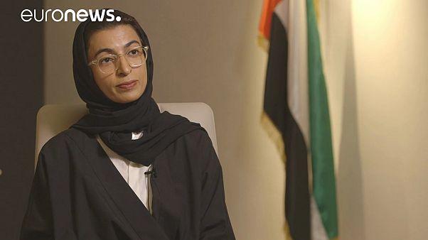 """""""Catar es un lugar seguro para los extremistas"""", Noura Al Kaabi, ministra para Asuntos del Consejo Federal Nacional de los Emiratos Árabes Unidos"""