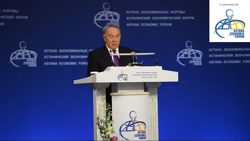 International leaders debate energy and economy in Astana