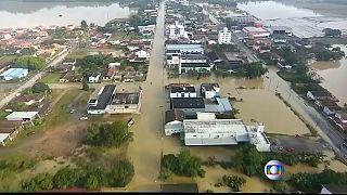 Chuvas no Rio Grande do Sul provocam pelo menos duas mortes