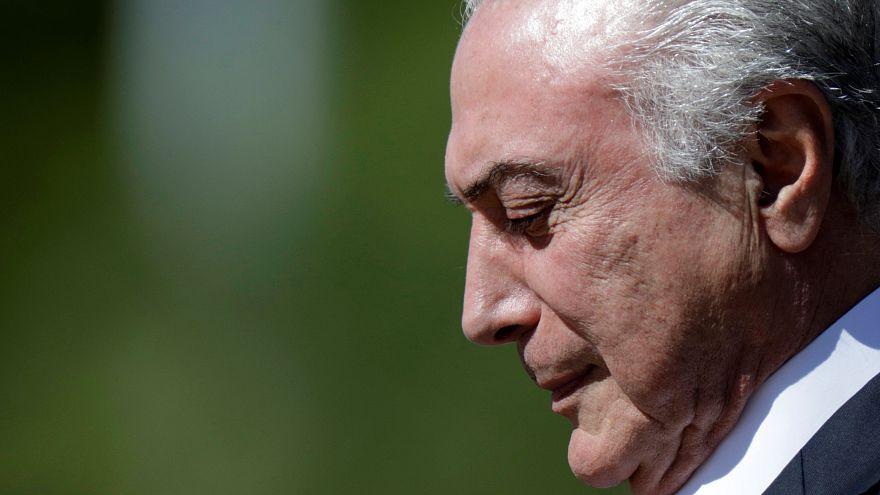 Mahkemeden Brezilya Devlet Başkanı Temer'in lehine karar