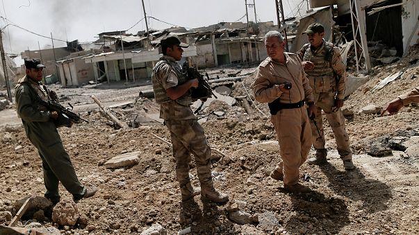 القوات العراقية تستعيد حي الزنجيلي