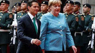 Merkel talks Brexit in Mexico