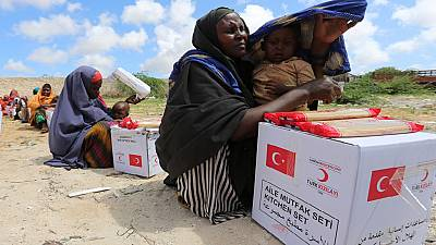 Five people killed as Somalia soldiers fight over food aid distribution