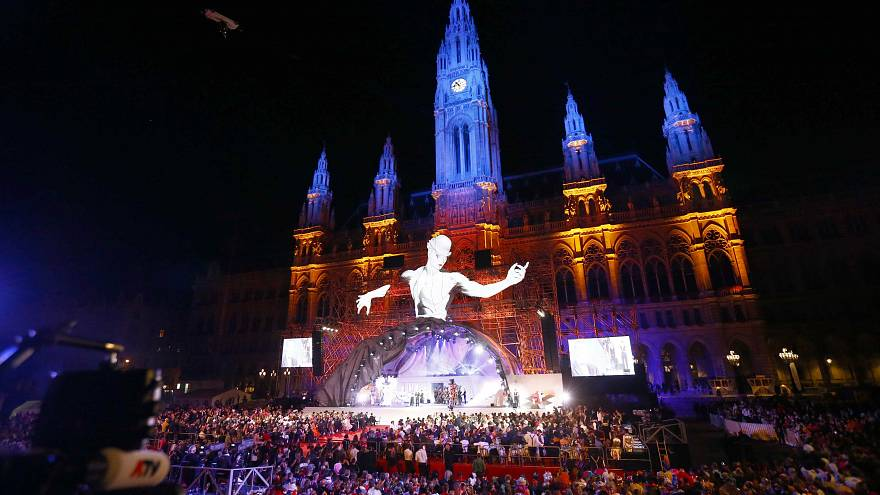 Life Ball im schillernden Wien: Fast 4.000 Gäste