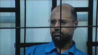 Wanted Gaddafi son freed by militia captors in Libya