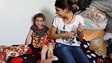 Christina, a menina cristã, volta a casa depois de raptada pelo Daesh