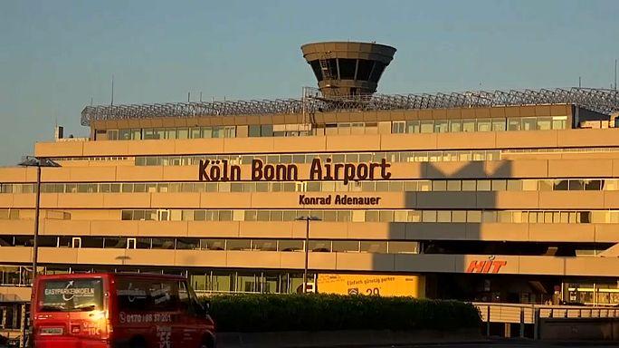 Aterrizaje de emergencia en Colonia por alarma antiterrorista