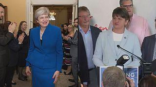 May espera apoio de Unionistas da Irlanda do Norte