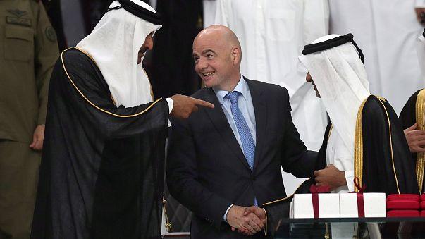 إنفانتينو واثق بخصوص مونديال قطر 2022