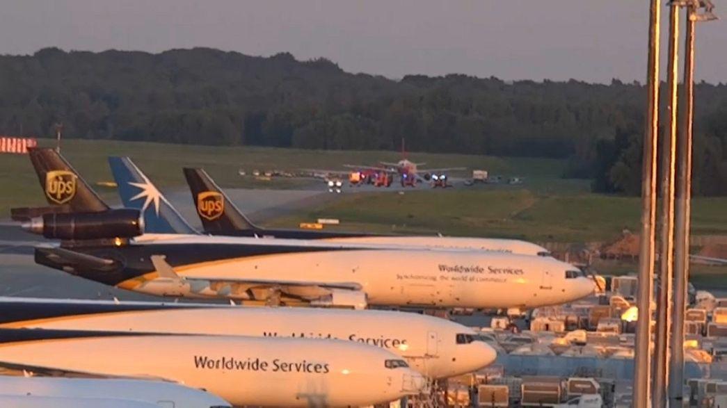 """الشرطة الالمانية لم تعثر على متفجرات داخل طائرة """"ايزي جيت"""""""