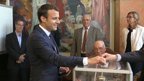 Macron set for second landslide