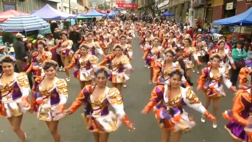 """بوليفيا تحيي مهرجان """"سيد القوى العظمى"""""""