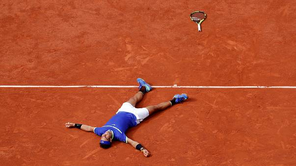 Spain's Rafael Nadal wins 10th French Open