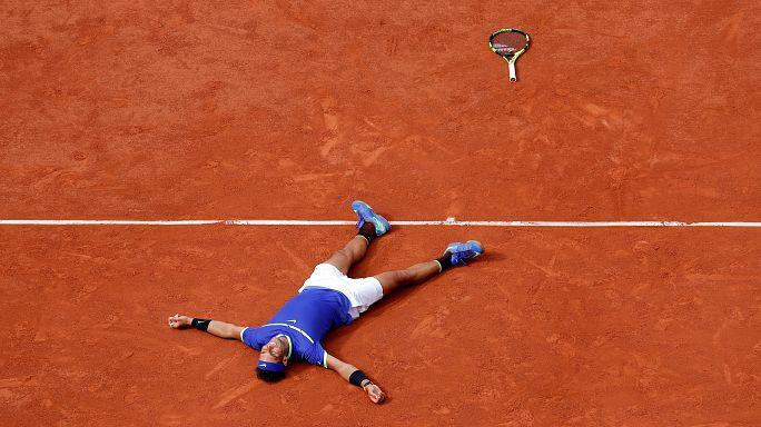 A Rafael Nadal 10. alkalommal is megnyerte a francia nyílt teniszbajnokságot