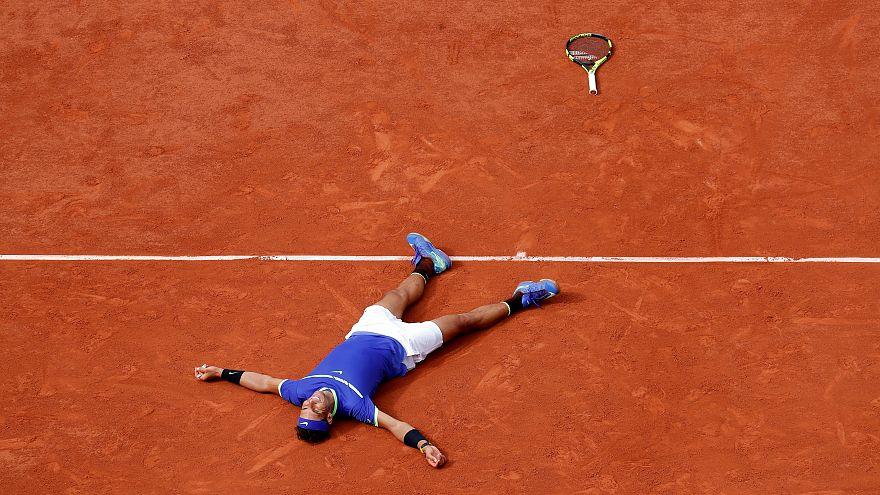 Nadal Fransa Açık'ı 10. defa kazandı