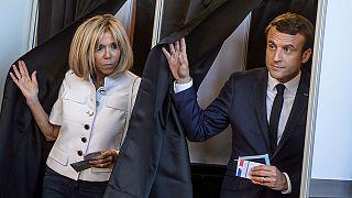 Législatives: le parti d'Emmanuel Macron largement devant