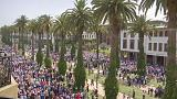 Rally in Moroccan capital Rabat