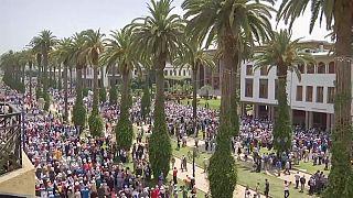 Mehrere 10.000 Demonstranten: Erneut Unruhen in Marokko