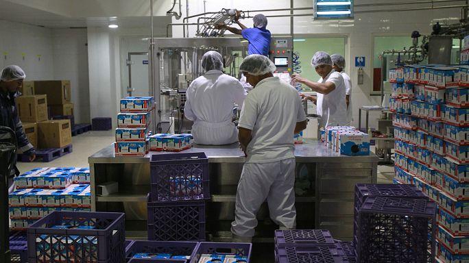 Iráni élelmiszerszállyítmány Katarnak