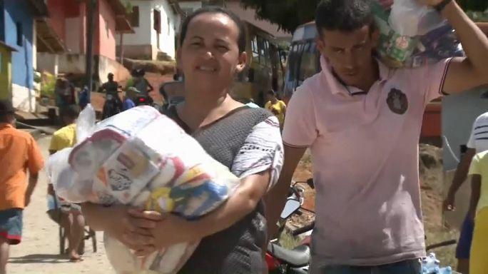 Cheias: Ajuda chega às populações brasileiras