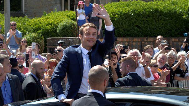 Macront ünneplik Franciaországban