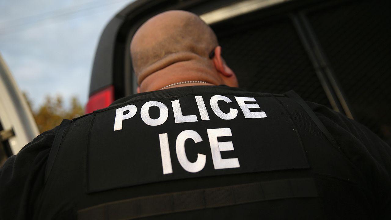 Image: ICE Agents Detain Suspected Undocumented Immigrants In Raids
