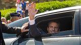 Партия президента Франции лидирует на парламентских выборах