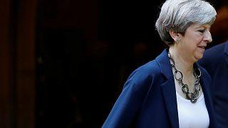 British PM Theresa May reshuffles cabinet before Brexit talks