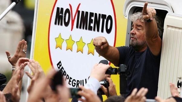 Ιταλία: Δεινή ήττα για τον Μπέπε Γκρίλο στις τοπικές εκλογές