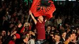 """La """"coalition des guerriers"""" crie victoire au Kosovo"""