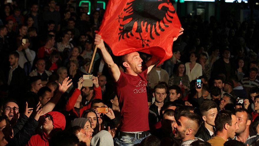 Kosova'da PAN ittifakı zaferini ilan etti