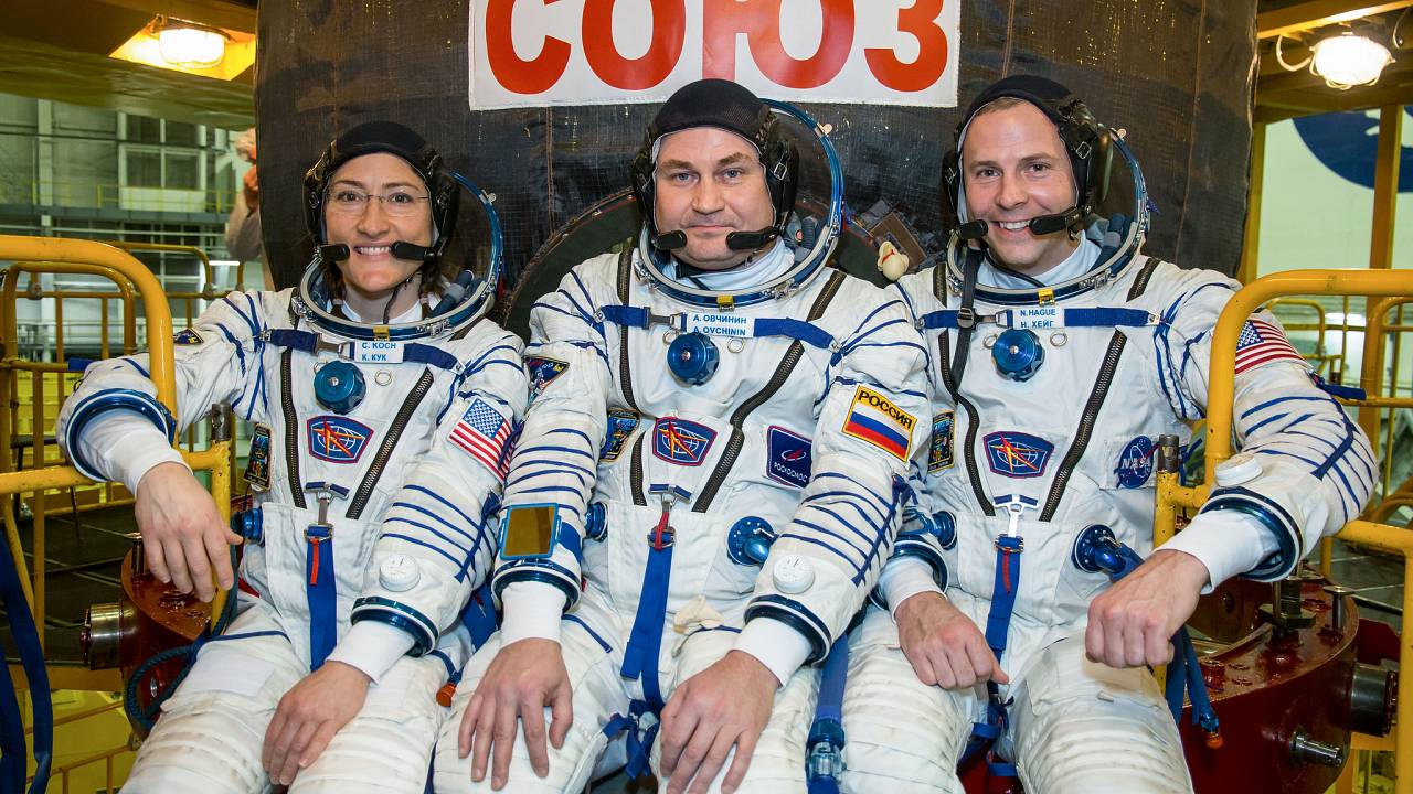 Astronauts, cosmonaut to fly to the International Space Station