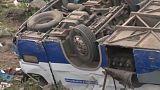 Автобус с паломниками перевернулся в Забайкалье