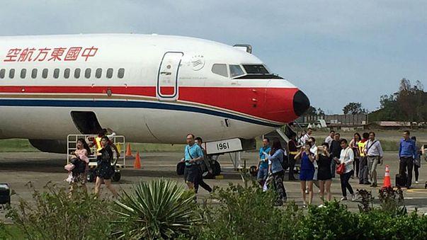 هبوط اضطراري لطائرة تابعة لشركة الطيران الصينية تشاينا ايسترن في استراليا