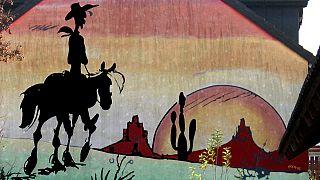 Hızlı kovboy Red Kit 70 yaşında