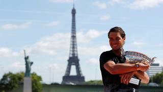 Rafa Nadal a perfect ten in Paris