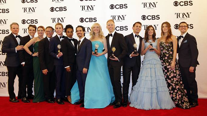 Tony Awards: 'Dear Evan Hansen' wins top Broadway honours