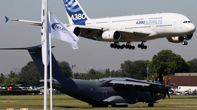 The 2017 Paris Airshow off to a roaring start