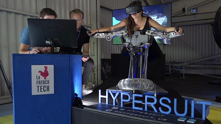 The Hypersuit is 'a full-body joystick'