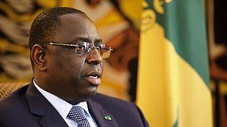 """Macky Sall ne veut pas que l'Afrique soit un """"ventre mou dans la lutte contre le terrorisme"""""""
