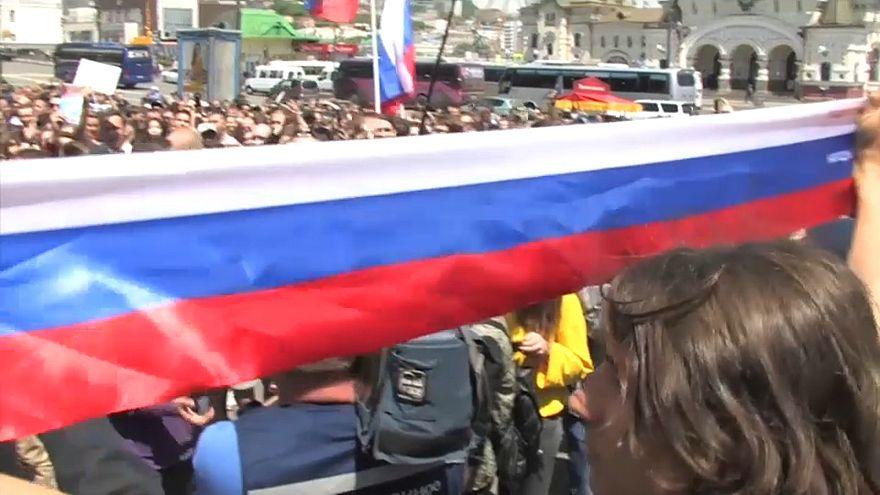 Владивосток: акция протеста против коррупции