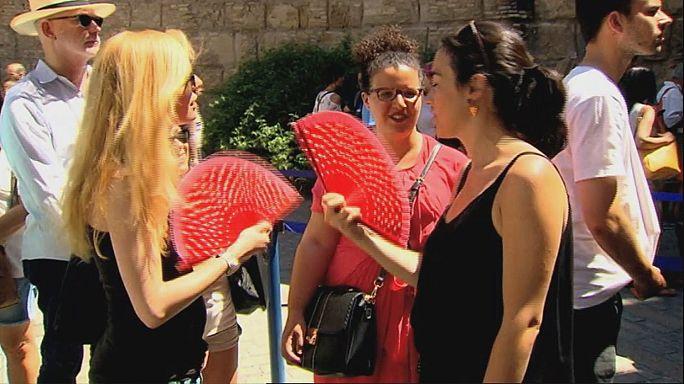 Mucho, mucho calor en España a nueve días del verano