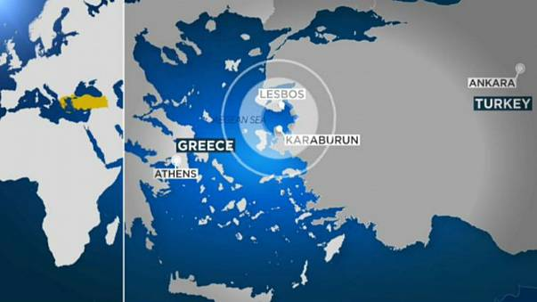 زلزال قوي يضرب شرق بحر إيجه بالقرب من جزيرة ليسبوس اليونانية