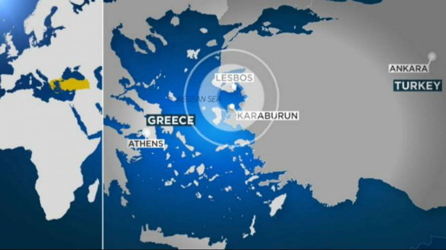 Woman killed by Aegean Sea earthquake