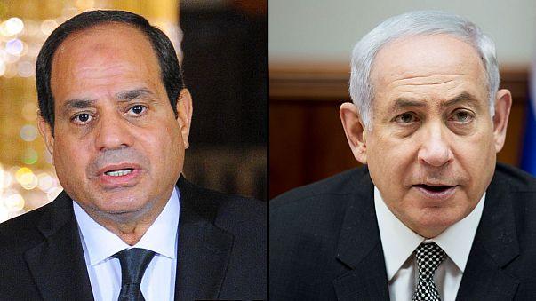 """الكشف عن لقاء """"سري"""" بين نتانياهو والسيسي في القاهرة"""