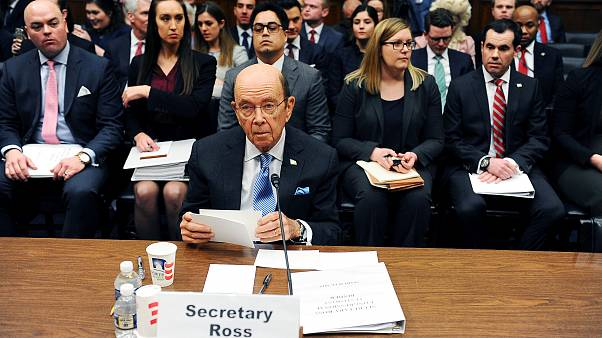 Commerce Secretary Wilbur Ross testifies at a House Oversight and Reform Co