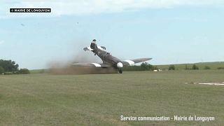Frankreich: Unfall am Flugtag
