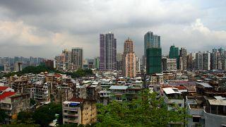 Macau prepara-se para o tufão Merbok