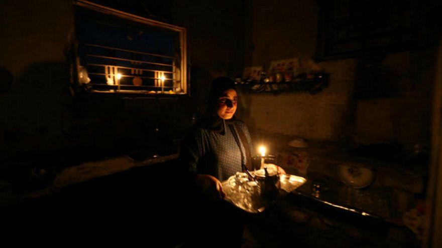 Kevesebb áramot kap Gáza
