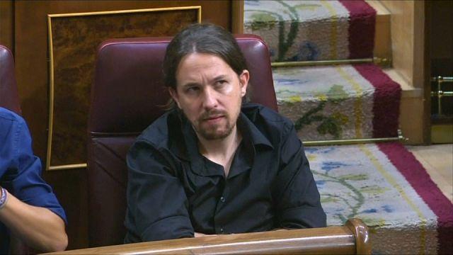 El referéndum independentista en Cataluña divide a Podemos horas antes de presentar la moción de censura contra Rajoy